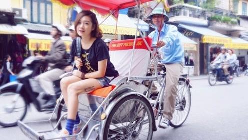 """越南奇葩三轮车,被叫做""""客先死"""",虽不吉利却引游客争相体验!"""