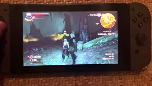 switch大作巫师3太好玩了,就这一整套装备就够吹几天的了!