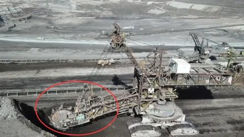 超大型工程机械采矿过程,这画面我彻底被震撼了,大开眼界
