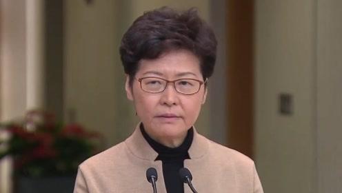 林郑:非常希望和平解决理大事件,但主导权在校园内暴徒手中