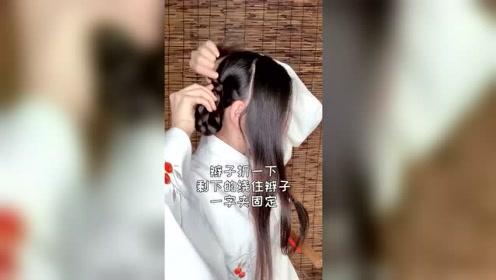 汉服发型之短袄:甜美显小明制头来袭,娇俏又可爱,秒变鬼马精灵小小姐!