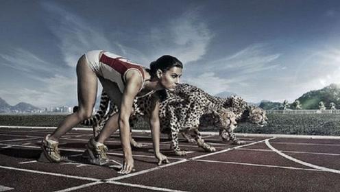 """人类""""极限""""速度,9.58秒跑一百米,和动物""""比试后""""无地自容"""