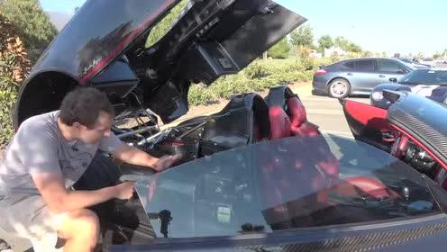 储物包展示评测,帕加尼 Huayra Roadster