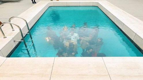好神奇的泳池,游客能在水底游玩衣服还不会湿?这是什么原理?