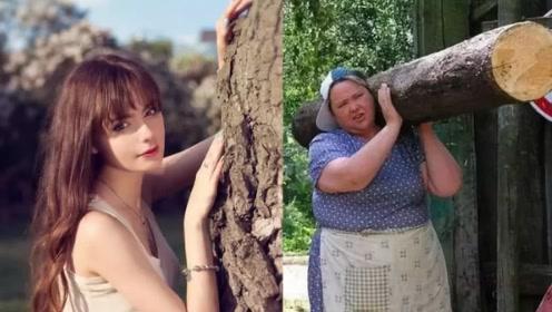 俄罗斯的性感美女,结婚后却秒变大妈,为何会有这种变化