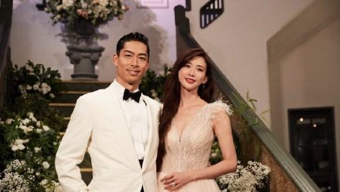 林志玲老公婚后发文显宠妻本色 新婚夫妻甜蜜依偎画面有爱