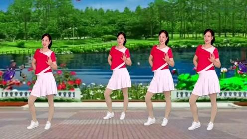 网红广场舞32步《爱到最后就是痛》史上最简单的32步