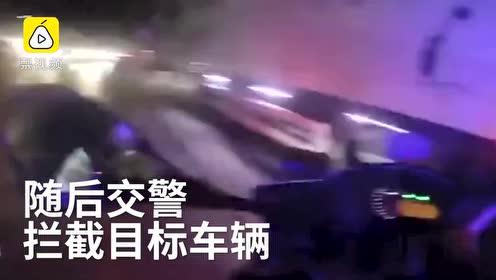 耍威风过头了!13岁男孩偷偷开车带朋友兜风,半路被交警拦截