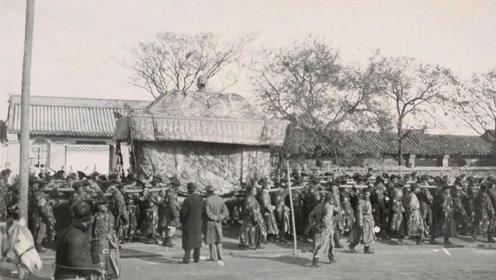 荷兰记者拍下慈禧出殡过程:陪葬品各种奇珍异宝,大清怎能不亡?