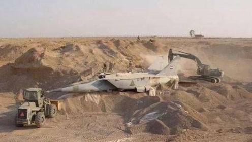 美国入侵伊拉克,为何萨达姆会将战机埋进沙漠,而不是用去作战?