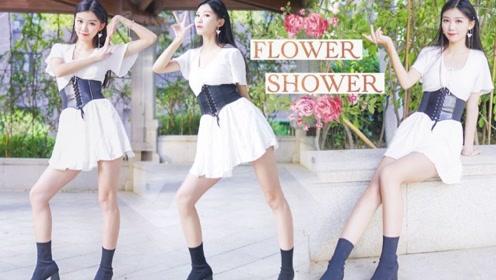 泫雅新歌Flower Shower,舞步轻盈很专业哦!