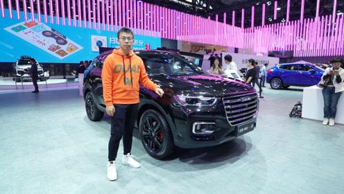 2019广州车展:还能再火一把?哈弗H6 GT 预售13万起