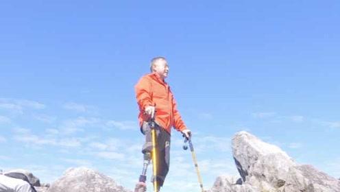 《攀登者》胡歌原型登顶三清山,游客偶遇感动落泪