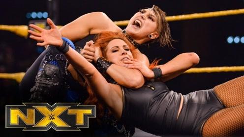【NXT535期】雷亚里普利A爆了!强力拆解女汉子大招 善娜带队围攻