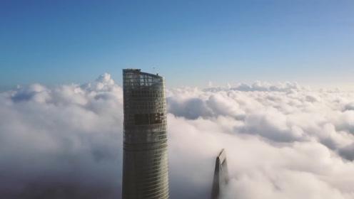 中国最高的大厦,遇到大风后摆动幅度超过一米,为何不会倒塌