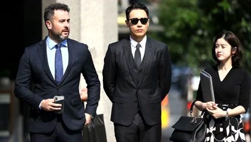 高云翔案庭审进入第19日 穿西装三件套戴墨镜表情严肃