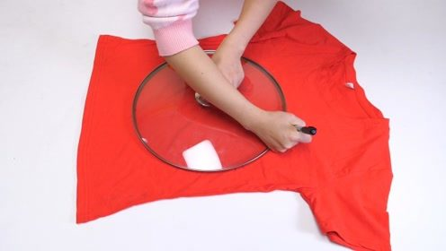 旧衣服不要扔,把锅盖放在上面简单缝一缝,有一个神奇的妙用