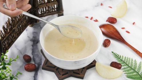 冬季干燥缺水喝什么?教你做一碗止咳化痰的润肺银耳雪梨汤