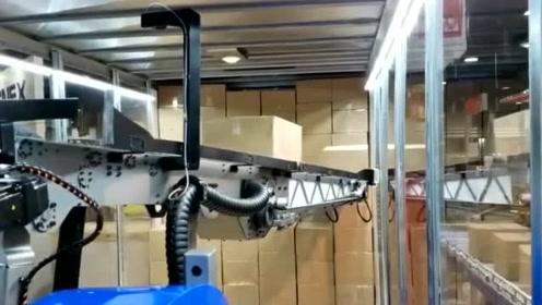 AGV结合机器臂,自动规划码货和卸货路径,加无人驾驶卡车实现全自动物流