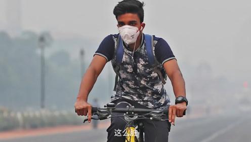 环境质量最差的首都,街道随处可见飘黑烟的垃圾,避之不及!