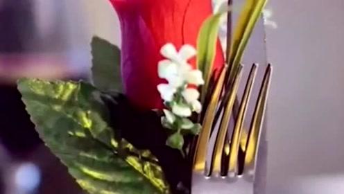 生活窍门: 用以下布料制作非常漂亮的玫瑰花,做法非常的简单