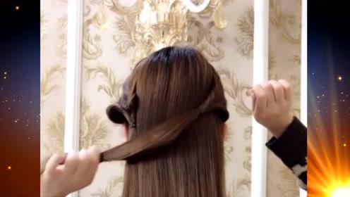 当下超流行的扎发发型,简单好看又好学,爱美的你千万不要错过哦