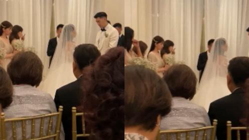 高以翔挚友毛加恩婚礼现场,致辞为高以翔祈祷,现场哭成一片