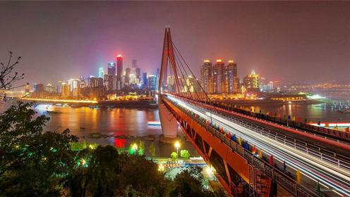 中国夜景最美的3大城市,重庆第三、上海第二,第一当之无愧!