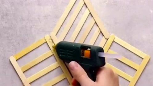 生活窍门:用以下木条制作出不一样的框架,效果非常好