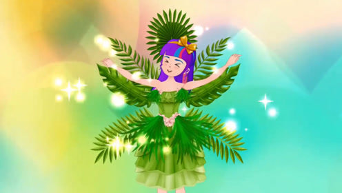 女孩为参加时装秀,用叶子做了件裙子,靠实力获得了认可!