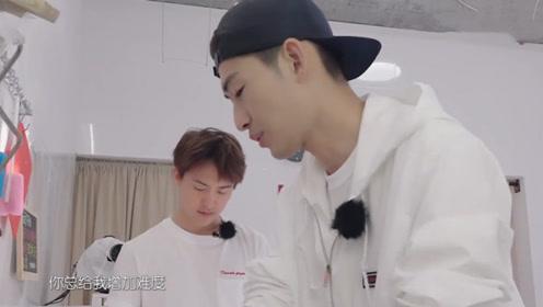 张翰马天宇厨房斗嘴,谁注意马天宇的一句话?原来他也是有脾气的