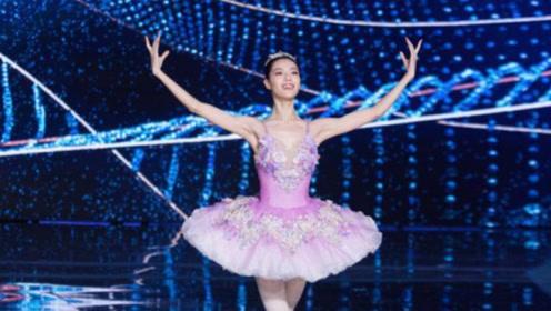 关晓彤跳芭蕾被钟楚曦碾压?看到两人同框照,女生的肩颈线太重要