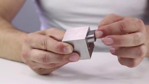 神奇的流动金属块,精度比头发丝还要细,打造无缝表面