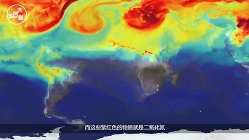 怎么回事?欧洲卫星传来预警,中国和日本上空出现整片的紫红色