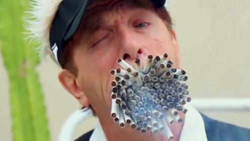 连抽1000根香烟,肺部会变成什么样?看棉花上的东西就知道了