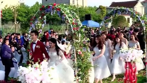 兵哥哥花200万举行婚礼,军嫂气质像明星,将军竟亲自主持婚礼!