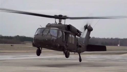 跟随直升机旋翼一起转动,看旋翼如何挥舞变距,感觉旋翼有点软