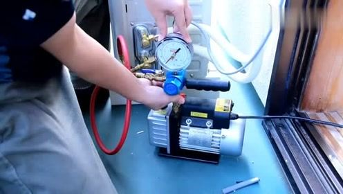 这才是空调安装工值得学习的技术,专业到细致入微!
