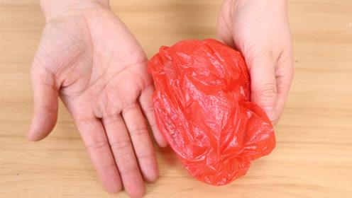 塑料袋放手心搓一搓,很多人不懂有啥用,学会受用一辈子