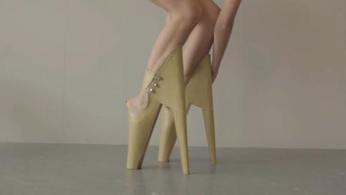 世界上最奇葩的几双高跟鞋,如此反人类的设计,真的会有人买吗?