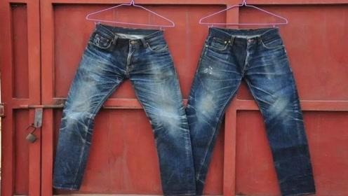 牛仔裤单调不好看,动手改造下,成品穿上逛街轻松赚翻回头率