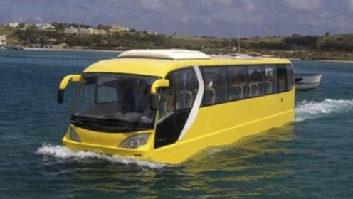 司机直接往河里冲,乘客尖叫不断,不可思议的事情发生了