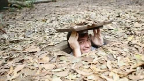 """越南""""地下城""""被发现,入口狭窄到不足1米,下面却藏着繁华的大世界!"""