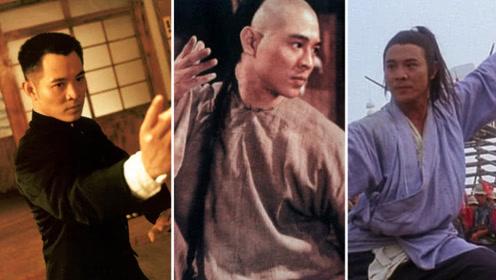 功夫巨星之李连杰:永远的功夫皇帝,一拳到位