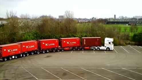 这是我见过马力最强大的大货车,网友:那得多大马力