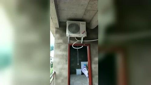 第一次装空调,总感觉哪里有点不对