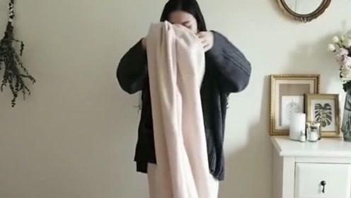 简单3步搞定冬季穿搭,时尚也能一学就会,轻松显瘦气质
