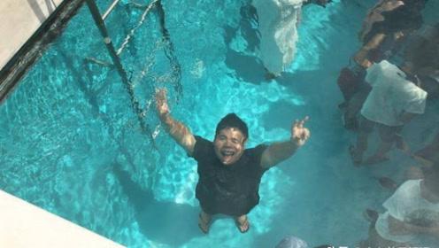 世界上最神奇的泳池,水下行走衣服不湿,里面有什么奥秘?