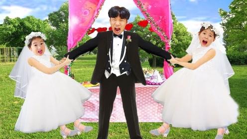 可爱的妹妹要嫁人了,哥哥却弄坏了婚礼蛋糕,还好及时补救,婚礼圆满完成