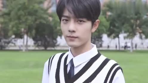 肖战宋祖儿校园风MV预告来了,两人笑起来好甜呀